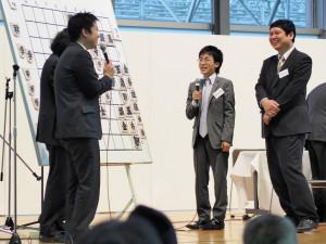 激戦を制した菅井五段の勝利。